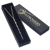 Sterling Silver Professor Dumbledore Wand Necklace Gift Boxed