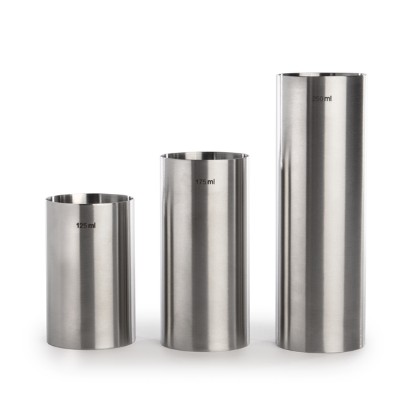 Stainless Steel Wine Measures - Set of 3 | M&W