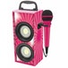 Lexibook BTP155PKZ iParty Mini Bluetooth Karaoke Tower with Microphone Pink - Image 2