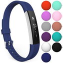 Yousave Fitbit Alta / Alta HR Strap Single Large - Dark Blue