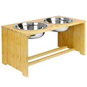 Raised Pet Bowls | For Dogs & Cats | M&W Large New