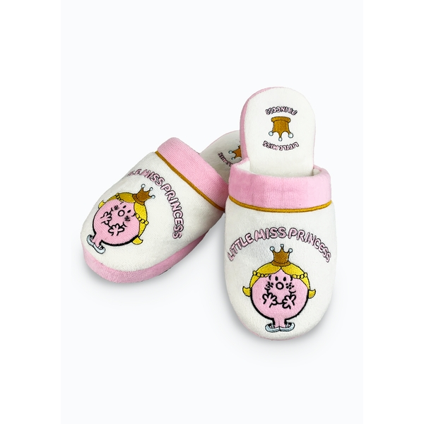 Mr Men & Little Miss – Miss Princess Slippers UK Size 5-7