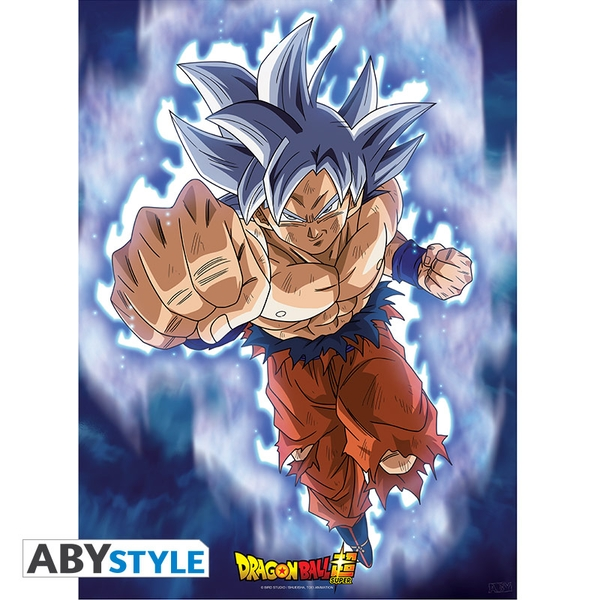 Dragon Ball Super Goku Ultra Instinct (52cm x 38cm) Small Poster