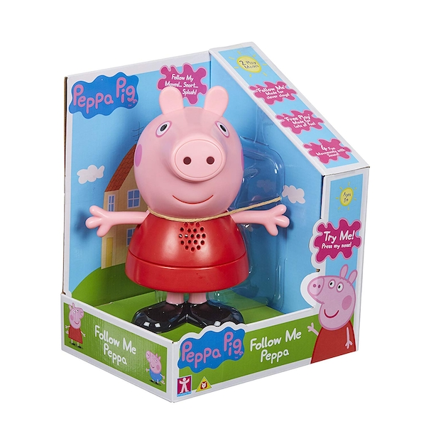 Peppa Pig Follow Me 6 Inch Peppa