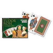 Tudor Rose Bridge Doubles Game Playing Cards