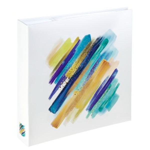 Hama Brushstroke Memo Photo Album for 200 Photos 10 x 15 cm Blue
