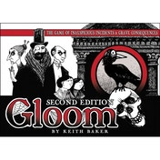 Ex-Display Gloom 2nd Edition Card Game Used - Like New