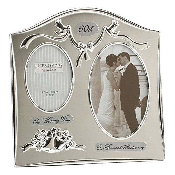 Double Aperture 60th Anniversary Photo Frame