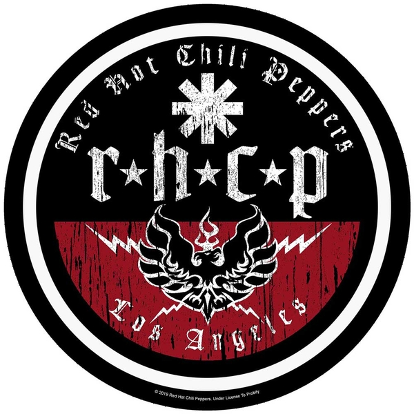 Red Hot Chili Peppers - L.A. Biker Back Patch