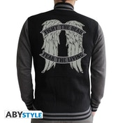 The Walking Dead - Angel Wings Men's Large Hoodie - Black