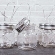Thumbs Up! Jar String Lights