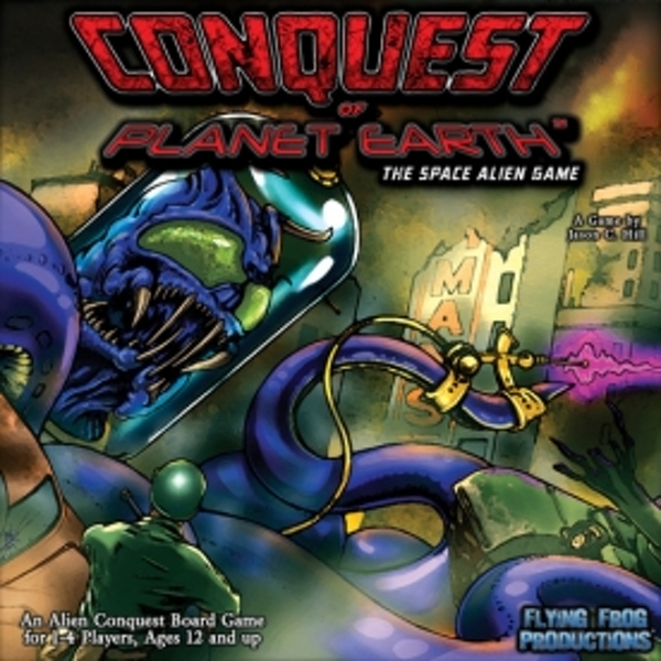 Conquest of Planet Earth The Space Alien Board Game
