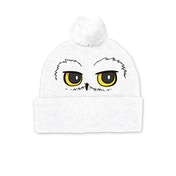 Harry Potter - Hedwig Eyes Pompom Beanie - White