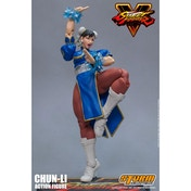 Chun-Li (Street Fighter V Agent of Justice) 1/12 Scale Action Figure