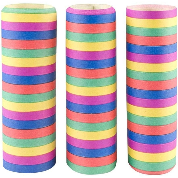 Streamers Rainbow Colour (Pack Of 3)