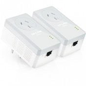 TP-LINK TL-PA4010PKIT 600 Passthrough Powerline Adapter Starter Kit UK Plug