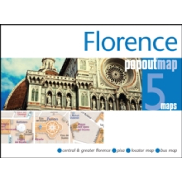 Florence PopOut Map : Handy pocket size pop up city map of Florence