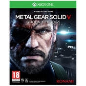 Metal Gear Solid Ground Zeroes Game Xbox One