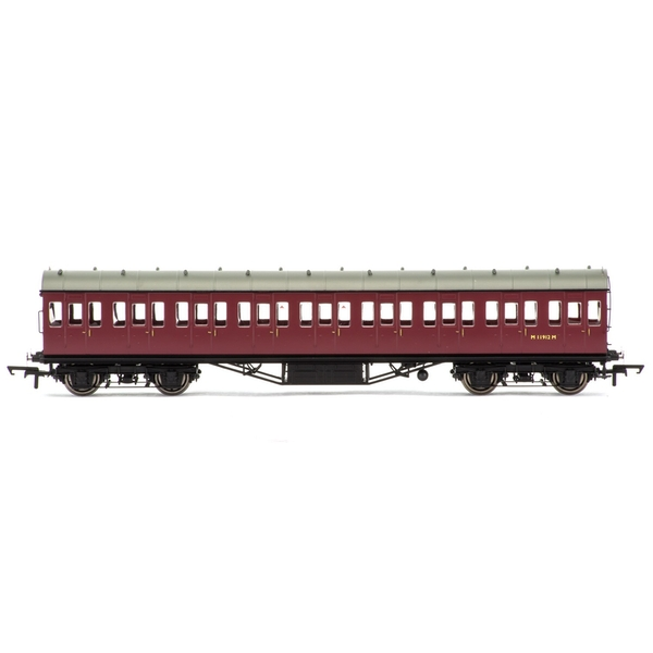Hornby BR 57' Stanier Non-Corridor Third M11912M Era 5 Model Train