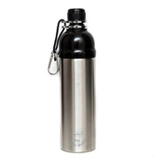 Long Paws Silver (750ml) Large Pet Water Bottle