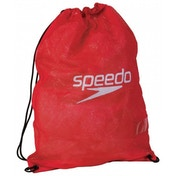 Speedo Equipment Mesh Wet Kit Bag Red