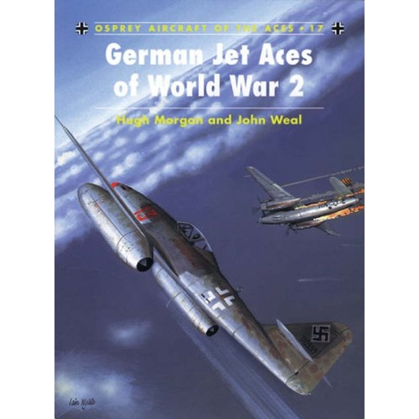 Luftwaffe Jet Aces of World War 2 by Hugh Morgan (Paperback, 1998)
