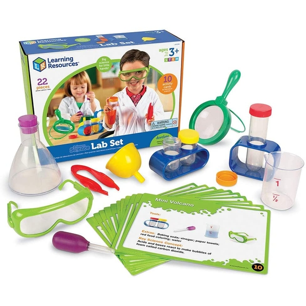 Learning Resources Primary Science Lab Set 22 Pieces (Multicoloured)
