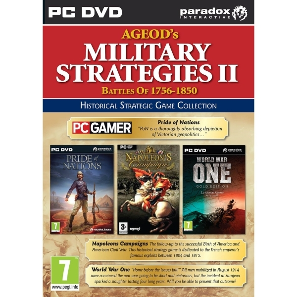 Ageod's Military Strategies 2 Game PC