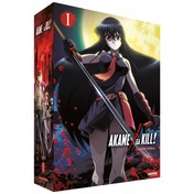 Akame Ga Kill - Collection 1 Episodes 1-12 Deluxe Collector's Edition Blu-ray