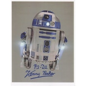Star Wars In Person Signed 10X8 - Kenny Baker As R2D2 (A)