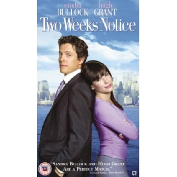 Two Weeks Notice 2002 DVD