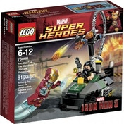 LEGO Super Heroes 76008 Iron Man vs. The Mandarin Ultimate Showdown