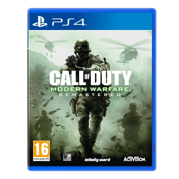 Ex-Display Call Of Duty Modern Warfare Remastered PS4 Game Used - Like New