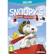 The Peanuts Movie Snoopy's Grand Adventure Wii U Game