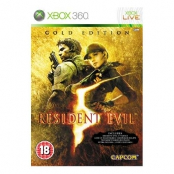 Resident Evil 5 Gold Edition Game Xbox 360