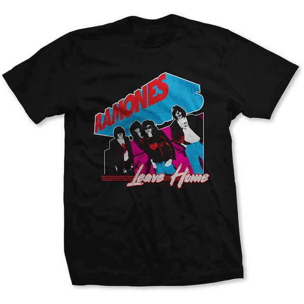 Ramones - Leave Home Unisex Small T-Shirt - Black