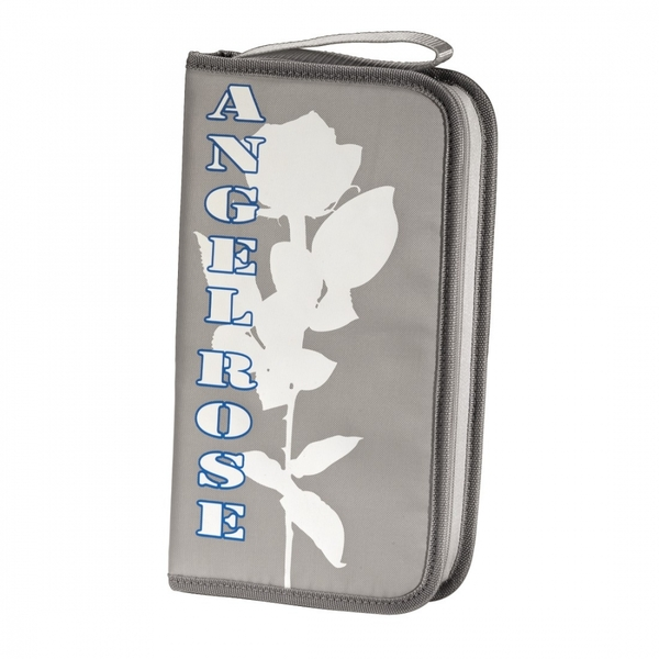 Angel Rose 64 CD/DVD Nylon Wallet (Grey)