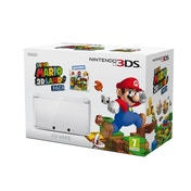 Nintendo 3DS Ice White Console and Super Mario 3D Land Game (UK Plug) 3DS