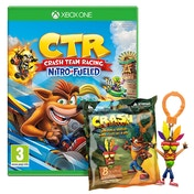Crash Team Racing Nitro Fueled Xbox One Game + Back Pack Hanger (Inc DLC)