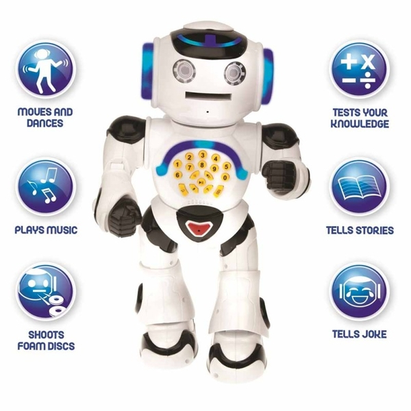 Lexibook ROB50EN Powerman Educational Robot