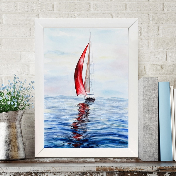BC486823465 Multicolor Decorative Framed MDF Painting
