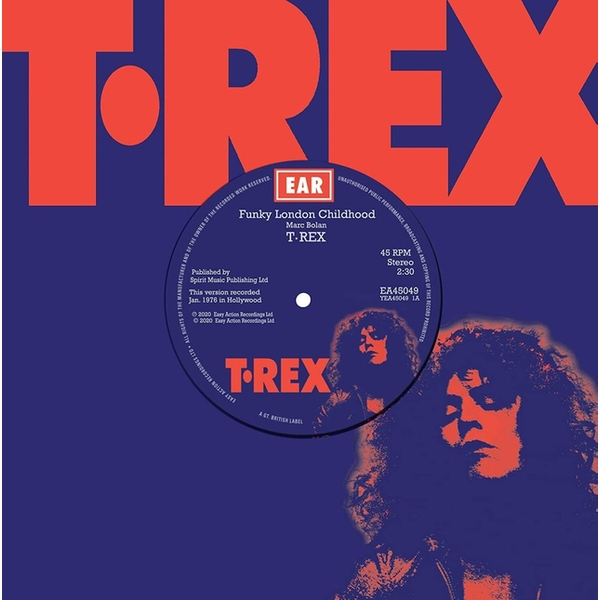 T. Rex ‎– Funky London Childhood Red Vinyl