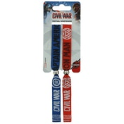 Marvel - Captain America Civil War Festival Wristbands