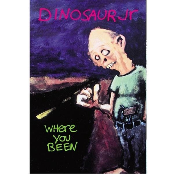 Dinosaur Jr. ‎– Where You Been Cassette
