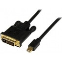 6 ft Mini DisplayPort    to DVI Adapter Converter Cable     Mini DP to DVI 1920x1200 - Black