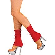 Leg Warmers Adult Red