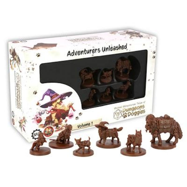 Dungeons and Doggies Miniatures Box 1