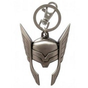 Marvel Pewter Key Ring Thor Helmet
