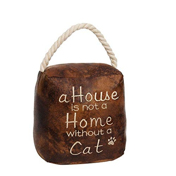 HESTIA? Door Stop - A House Is Not A Home Without A Cat