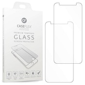 CASEFLEX HUAWEI Y5 PRIME TEMPERED GLASS (TWIN PACK) - CLEAR